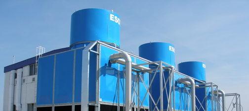 hladilni stolpi