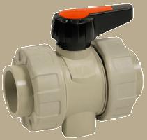 Dvostranski kroglični ventil PP