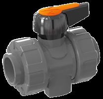 Dvostranski kroglični ventil PVC-U
