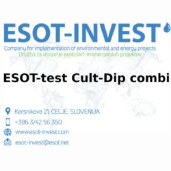 ESOT test Cult-Dip combi