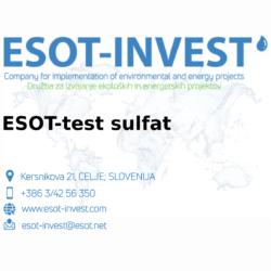 ESOT test sulfat